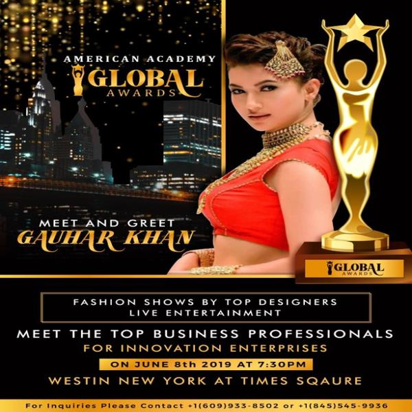 MEET AND GREET BOLLYWOOD CELEBRITY GAUHAR KHAN