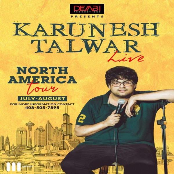 Karunesh Talwar Live Stand Up Comedy - Dallas