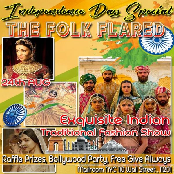 Jalwa- Independence Day Special- The Folk Flared-Exquisite Indian Traditional Fashion Show