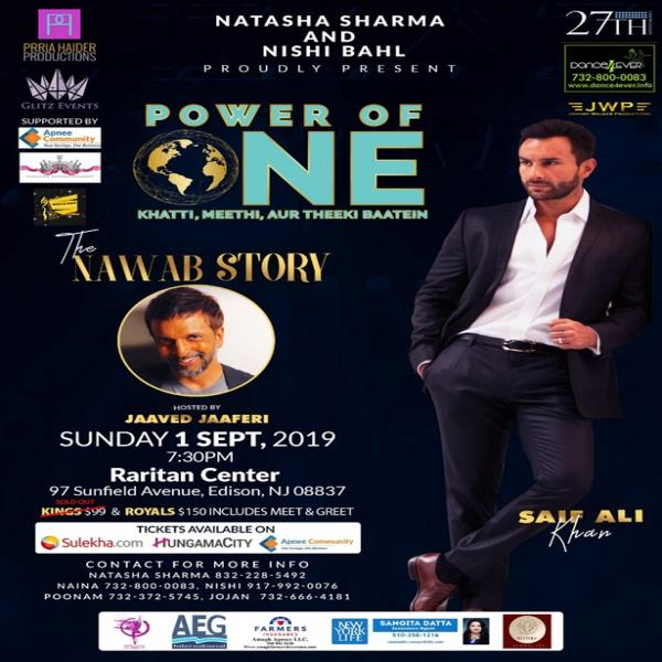 Power Of One - The Nawab Story by Saif Ali Khan