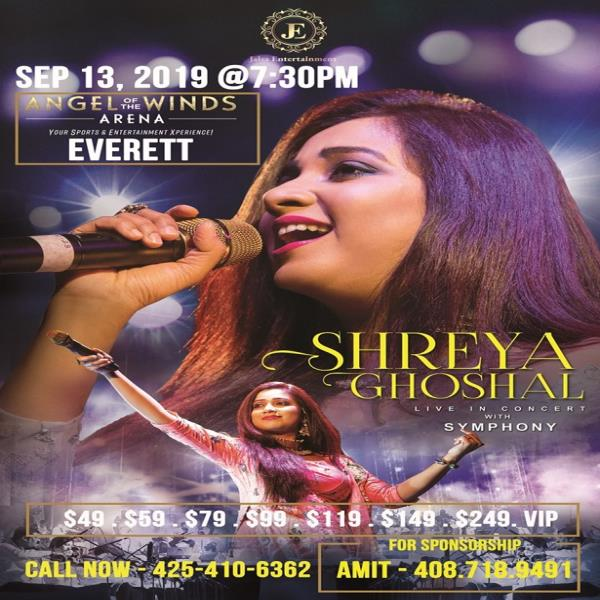 Shreya Ghoshal Live In Concert - Seattle