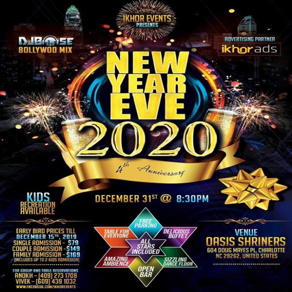 Ikhor's Annual Bollywood New Year Party 2020