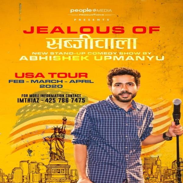 Abhishek Upmanyu Stand-Up Comedy: Live in Bay Area (4PM Show)