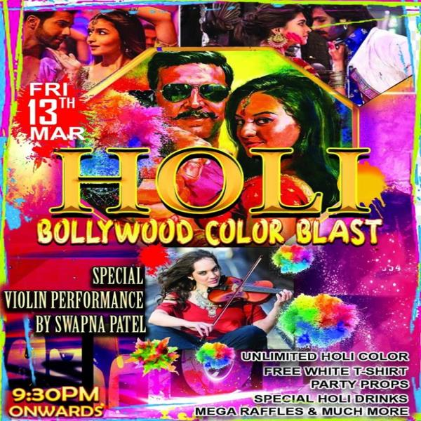 Holi Ayee Re (Real Color Splash) - Special Bollywood Dance Party