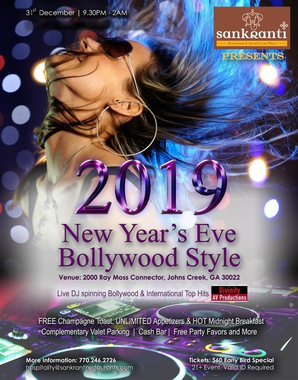 Hosted by Bollywood Night and Sankranti