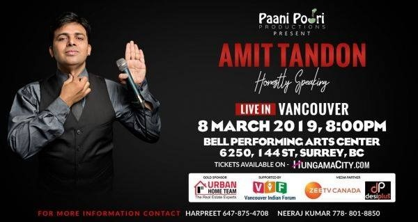 Vancouver Indian Forum and Paani Poori Productions